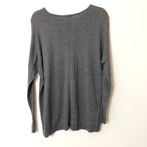 CAbi Sweaters - CAbi Oversize Gray Sweater Size XXS